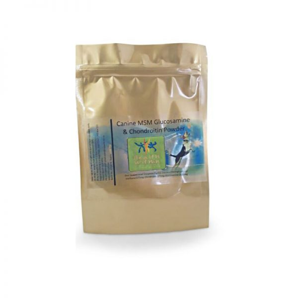 canine msm glucosamine chondroitin powder health within